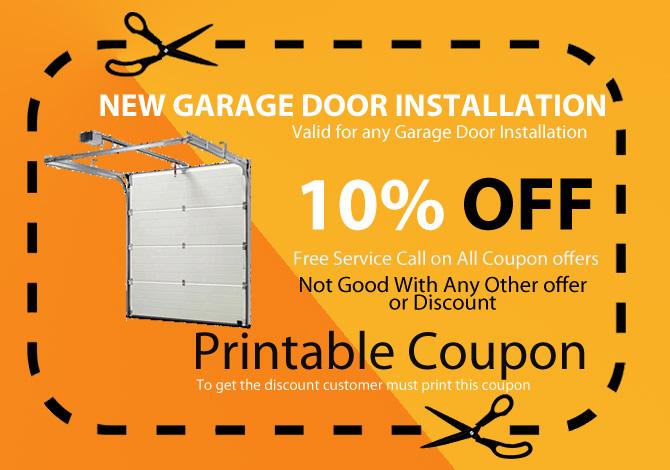 new garage door deal