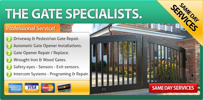 Gate Repair Westminster CA